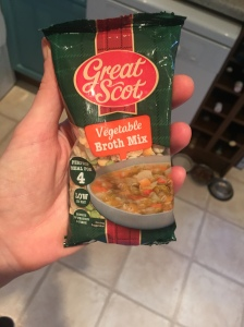 Great Scot vegetable broth mix
