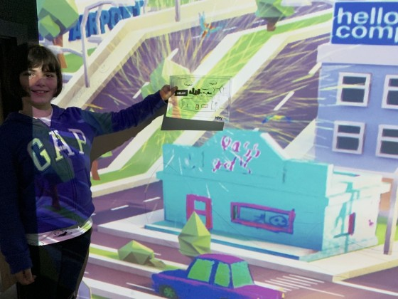 interactive wall 2